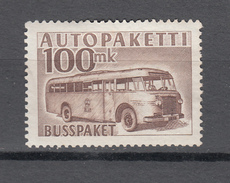 Finland 1952,1V,autopaketti,busspaket,car,auto,voiture,coche,MH/Ongebruikt(A3508) - Bussen