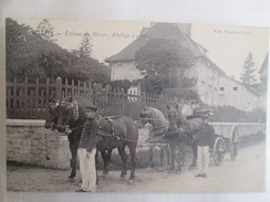 Cluny , Etalons Du Haras , Attelage A Quatre - Cluny