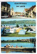 39  CLAIRVAUX  LES LACS  + CAMPING     CPM   TBE  1O709 - Clairvaux Les Lacs
