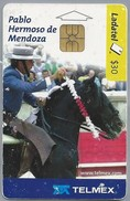 MX.- MEXICO. PHONECARD. LADATEL $ 30. TELMEX. Pablo Hermoso De Mendoza. CAGANCHO. Capa: Negro Cuatralbo. Razza: Lusitano - Mexico