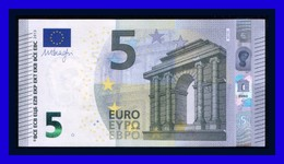 """5 EURO """"NA"""" AUSTRIA Firma DRAGHI N015 I5 UNC SEE SCAN!!!!!! - EURO"""