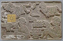 MX.- MEXICO. PHONECARD. LADATEL $ 30. TELMEX. Aniversario 1991 - 2001. Dintel. Museo Amparo, Puebla, Pue. - Mexico