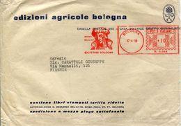 28846 Italia, Red Meter/freistempel/ema/bologna 1958 Johannes Calderini, Italian Jurist University Of Bologna, - Affrancature Meccaniche Rosse (EMA)