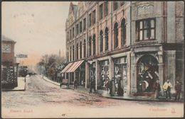Basset Road, Camborne, Cornwall, 1908 - Milton Artlette Postcard - England