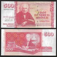 ISLANDE Iceland 500 KRONUR 22.5.2001 P 58b UNC - Iceland