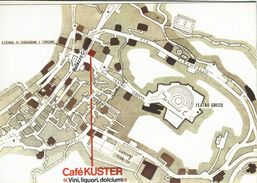 Café Kuster. Taormina Italy. 4 Scans.    # 07383 - Advertising