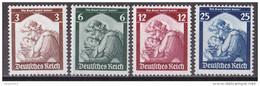 Mü_ Deutsches Reich -  Mi.Nr. 565 - 568 - Postfrisch MNH - Deutschland