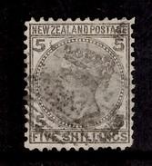 Nouvelle-Zélande YT N° 59 Oblitéré. B/TB Et Rare! A Saisir! - 1855-1907 Crown Colony