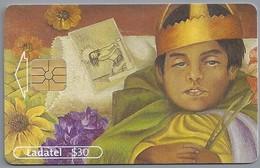 MX.- MEXICO. PHONECARD. LADATEL $ 30. TELMEX. Frida Kahlo. EL DIFUNTITO DIMAS ROSAS. Museo Dolores Olmedo Patino. - Schilderijen