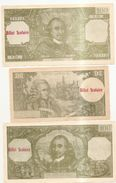 5 Billets Scolaire - Coins & Banknotes