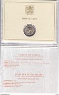 VATICAN 2017 2 Euro Commémorative 1950 ème Anniversaire Du Martyre Des Saints Pierre Et Paul Coffret BU Neuf - Vaticano (Ciudad Del)