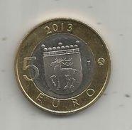 Monnaie , SUOMI FINLAND , 5 Euro , 2013, Phare , 2 Scans, Frais Fr : 1.95 E - Finnland