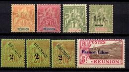 Réunion Belle Petite Collection 1892/1943. Bonnes Valeurs. B/TB. A Saisir! - Reunion Island (1852-1975)