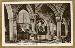 Plestin-les-Grèves (Côtes-d'Armor)  Intérieur De L'église - Plestin-les-Greves