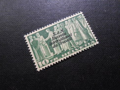 CH ZNr.59 - 10Fr.**/MNH - Völkerbund (Dienstmarken) - D IV - BIT  1939 - Z CHF 21.50 - Officials