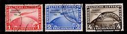 Allemagne/Reich Poste Aérienne YT N° 42A/42C Oblitérés. Très Bonne Série. B/TB. A Saisir! - Airmail