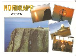 CPM  NORGE NORVEGE CAP NORD NORTH CAPE NORDKAPP OBLITERATION CONCORDANTE MULTIVUE - Norway
