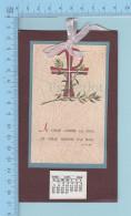 Religion - Calendrier 1969, Je Vous Laisse La Paix, Je Vous Donne La Paix - Calendars