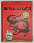 #20043[Boek - Strip] De Blauwe Lotus / Hergé [= Georges Remi]. - [S.l.] : Casterman, Cop. 1947 - Kuifje