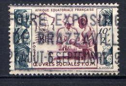 AEF - 227° - AU PROFIT DES OEUVRES SOCIALES DE LA F.O.M. - A.E.F. (1936-1958)