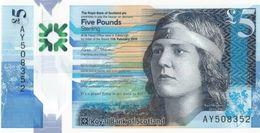 SCOTLAND (ROYAL BANK) 5 POUNDS 2016 P-370a UNC [SQ370a] - 5 Pounds