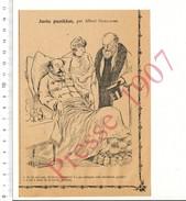 Presse 1907 Maladie Goutte Au Pied / Alcool Digestif   216CH4 - Documentos Antiguos