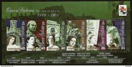 GUERNSEY 2001 - Centennial Death Of Queen Victoria - Bloc 26 Mi 874-879 MNH ** Cv€8,00 D448 - Guernsey