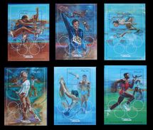 PALAU - OLYMPICS BARCELONA 92 - YVERT BF 13-18 - MICHEL BLOCK 15-20 - SCOTT SS 304-309 - Verano 1992: Barcelona