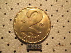 HUNGARY 2 Forint 1989 # 6 - Hungary