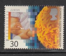 Great Britain 1994 MNH Scott #1578 30p Scanning Electron Microscopy - EUROPA - Medicine