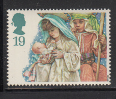 Great Britain 1994 MNH Scott #1581 19p Mary, Joseph, Jesus - School Children - Christmas - Noël