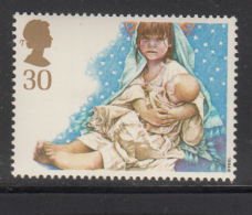 Great Britain 1994 MNH Scott #1583 30p Mary Holding Jesus - School Children - Christmas - Noël