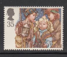 Great Britain 1994 MNH Scott #1584 35p Three Shepherds - School Children - Christmas - Noël