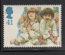 Great Britain 1994 MNH Scott #1585 41p Angels - School Children - Christmas - Noël