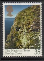 Great Britain 1995 MNH Scott #1609 35p The National Trust Saving Coast - Protection De L'environnement & Climat
