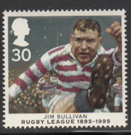Great Britain 1995 MNH Scott #1631 30p Jim Sullivan Rugby League Centenary - Rugby