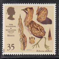 Great Britain 1996 MNH Scott #1656 35p Bittern Wildfowl And Wetlands Trust - Nuevos