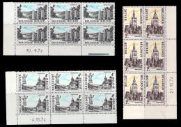 Belgium 1734/36** X 6  Tourisme  MNH - Neufs
