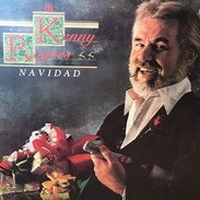 LP Navideño De De Kenny Rogers Año 1981 Edición Argentina - Christmas Carols