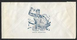 Portugal Lettre Publicitaire 1981 Acier Steel Publicitary Cover - 1910-... République