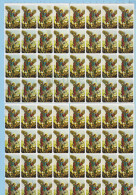 Religion -  64 Timbres Métalisés Pour Cacheter, Saint Michel Archange Terrassant Lucifer, Vignette, - Erinnophilie