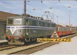 CC 20001 Et Remorques (train N°8764 Pour La Roche-sur-Foron), En Gare D'Annemasse (74) - - Stations With Trains