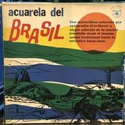 Caja De 4 LPs Acuarela Del Brasil Edición Argentina Años 60 - Limitierte Auflagen