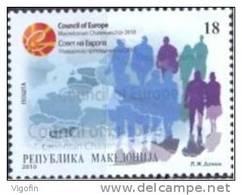 MK 2010-543 MK IN EU, MACEDONIA, 1 X 1v, MNH - Mazedonien