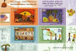 ISRAEL 2006 CHILDREN'S DESIGN - MINIATURE SHEET - Hojas Y Bloques