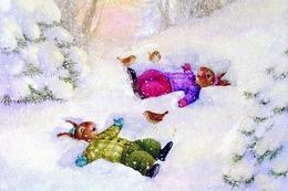 #48/11 Animals Hares Susan Wheeler Russian Modern Rare New Postcard - Andere