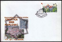 Croatia Karlovac 2008 / Philatelic Exhibition CROATICA / Castle - Croatia