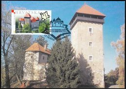Croatia Karlovac 2008 / Philatelic Exhibition CROATICA / Castle / Dubovac / MC - Croatia