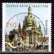 Bund 2016, Michel# 3219 O     350. Geburtstag Von George Bähr - Dresden Frauenkirche - BRD