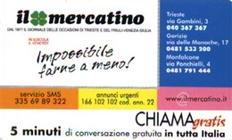 *CHIAMAGRATIS - N.195 - IL MERCATINO* - Scheda Usata (DT) - Unclassified